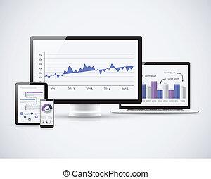 Analyse der Finanzstatistiken über T.