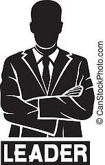 Anführer ( erfolgreicher Geschäftsmann)