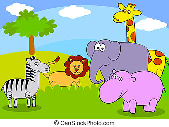 Animal Cartoon.