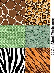 Animal Print nahtlose Muster.