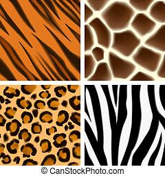 Animal Print nahtlose Muster