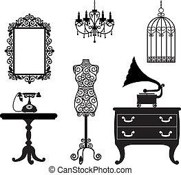 antikes , möbel