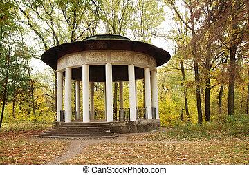 Antikes Pavillon