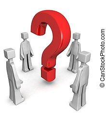 Antworten finden oder Problemkonzept lösen