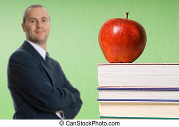Apfel in Büchern