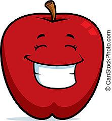Apfellächeln