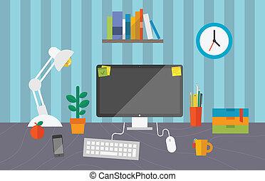 Arbeit im Büro