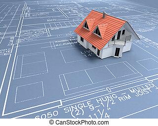 Architekten-Plan