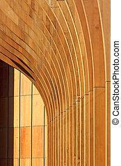 Architektur, abstrakter Hintergrund