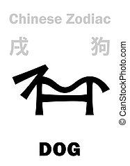 astrology:, zodiac), (sign, chinesisches , hund