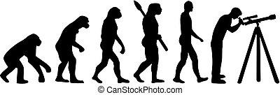 Astronomische Evolution.