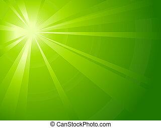 Asymmetrisches grünes Licht ist geplatzt