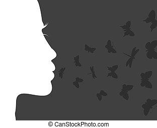 atem, papillon