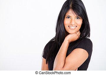Attraktive indische Frau