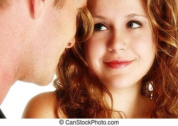 Attraktives junges Paar