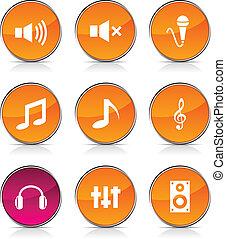 Audio-Ikonen.