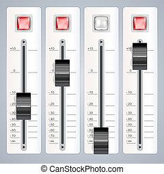 Audio-Mischungskonsole