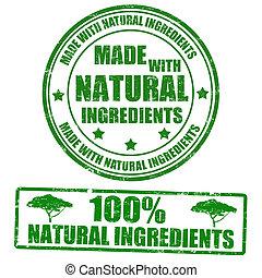 Aus natürlichen Zutaten.