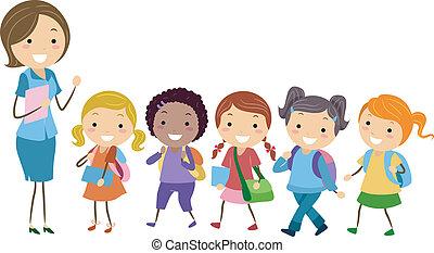 Ausschließlich Schule für Mädchen