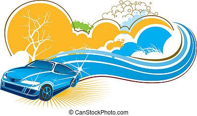 Auto mit Naturtalent