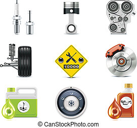auto, p.3, service, icons.