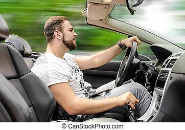 Autofahrer.