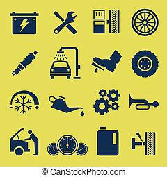 Autoreparatur-Icon-Symbol