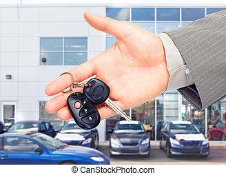 Autoschlüssel.