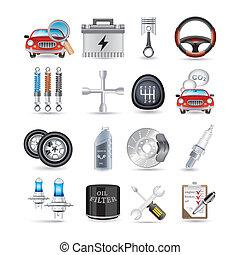 Autoteile und Service