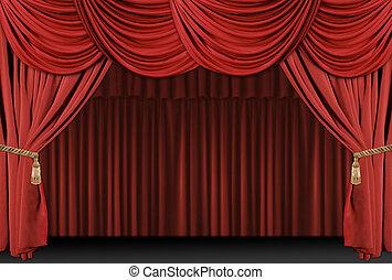 Bühnen-Theater-Hintergrund