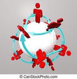 Bürgerverbindungen - soziale Netzwerke