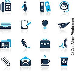 Büro & Business / azure