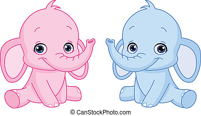 Baby-Elefanten
