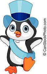 baby, pinguin, jahreswechsel