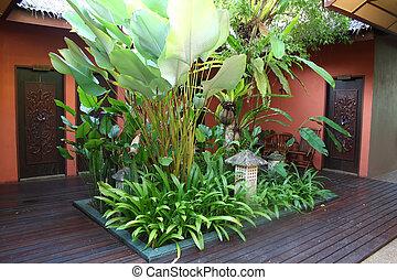 Bali Innenhof