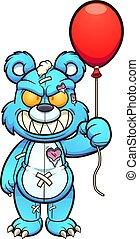 balloon, bär
