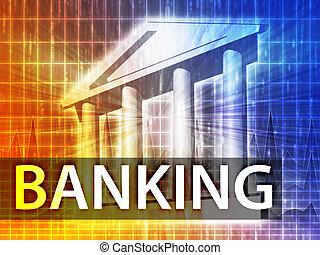 Bank-Illustration