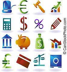 Bankrott-Ikonen-Set