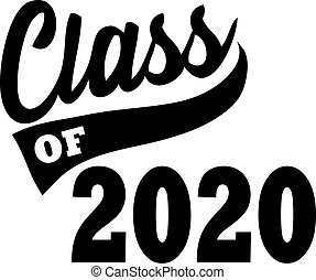 banner, klasse, grafik, 2020