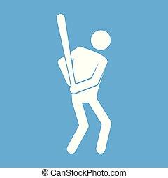 Baseball-Symbol-Vektorgrafik.