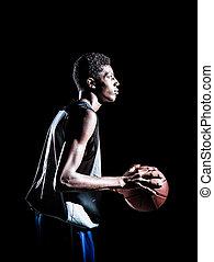 Basketballspieler.