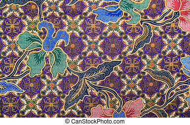 Batik-Muster.