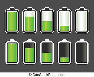 Batterie Level Indikator