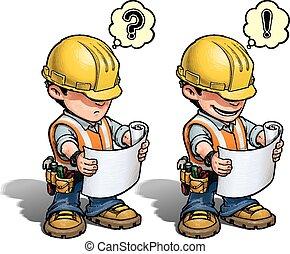 Bauarbeiter - Leseplan