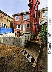 Bauaufbau nach Hause