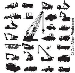 bauende ausrüstungen, konstruieren