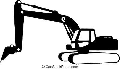 Baufahrzeuge (Vektor)
