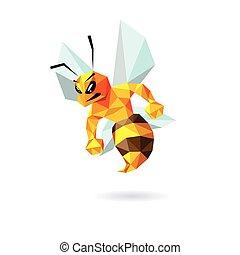 Bee Maskottchendesign