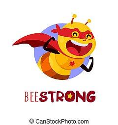 Bee stark, Vektor