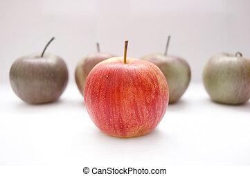 begrifflich, äpfel, image.